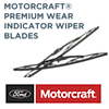 Motorcraft® Premium Wiper Blades with Wear Indicator