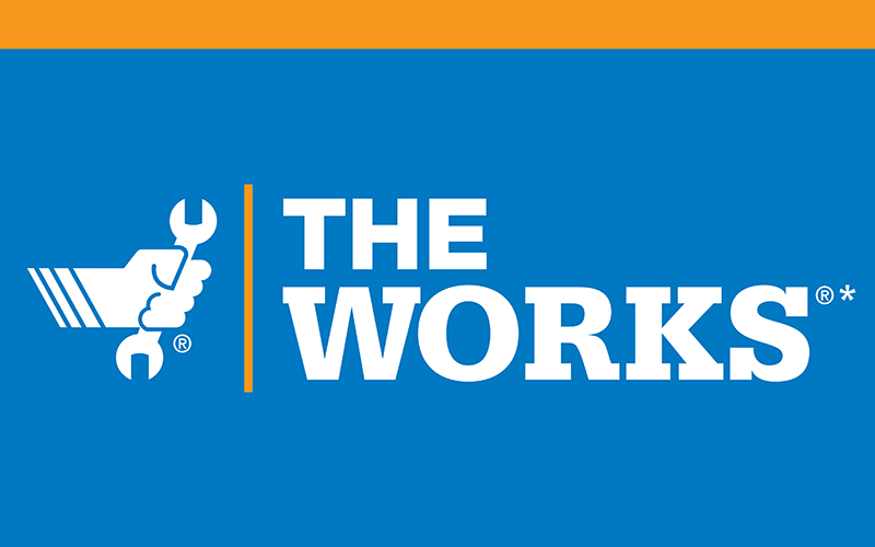The Works® Oil Change, Tire Rotation, Vehicle Check-Up and More*