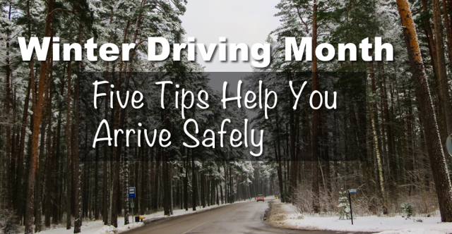 Five Reminders For Winter Driving
