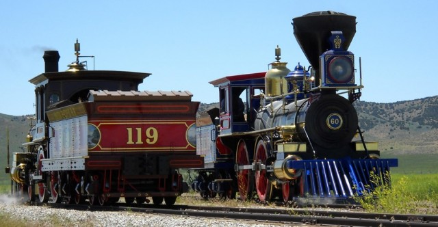 The Golden Spike: 150th Anniversary of Transcontinental Railroad